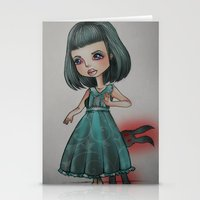 doll Stationery Cards featuring Doll by SilviaBoh