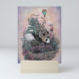 Land of the Sleeping Giant Mini Art Print