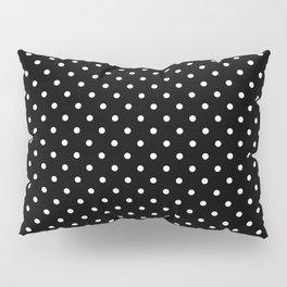Dots (White/Black) Pillow Sham