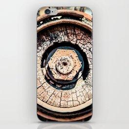 The Rusted Wheel iPhone Skin