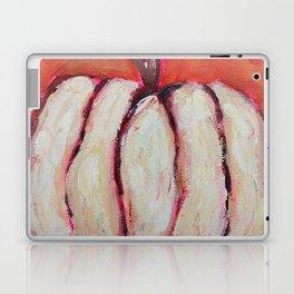 White Rustic Pumpkin Laptop & iPad Skin