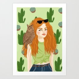 Bruna Art Print
