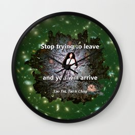 Stop trying to leave Wall Clock
