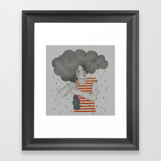 Luella Framed Art Print