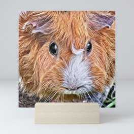 Painted Guinea Pig 5 Mini Art Print