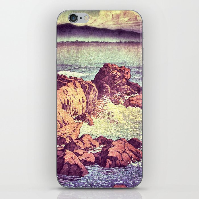 Stopping by the Shore at Uke iPhone Skin