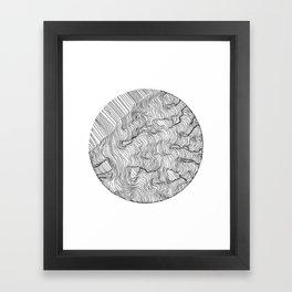 Vertigo Adrift (Vector) Framed Art Print