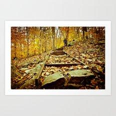 Once Upon an October Art Print