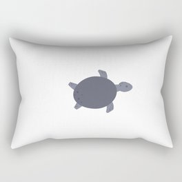 Turtle. Poster for children. Animals. Poster with animals. Rectangular Pillow