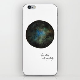Galaxy Dreams iPhone Skin