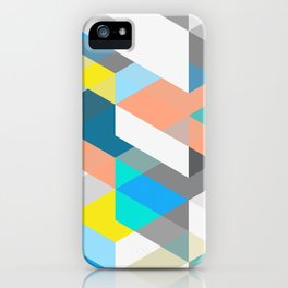 Bold Halequin iPhone Case