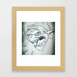 Hooligan Art Framed Art Print