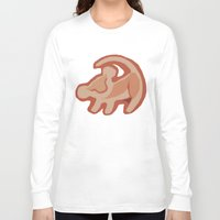 simba Long Sleeve T-shirts featuring Simba / Lion King by tshirtsz