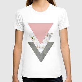 Blossoms Arrows Collage T-shirt