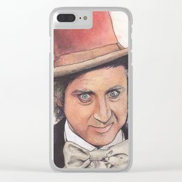 Willy Wonka Clear iPhone Case