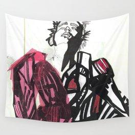BLACK/WHITE BOY Wall Tapestry