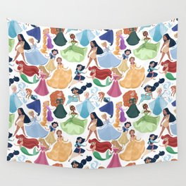 Forever princess Wall Tapestry