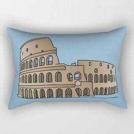 Colosseum Rome Rectangular Pillow