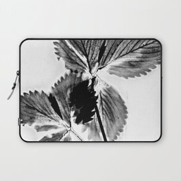 Strawberry Leaves Laptop Sleeve