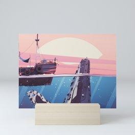 A Whale Story Mini Art Print