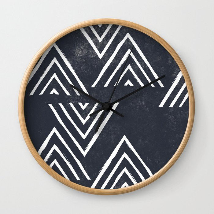 The Mountain Top - Midnight Wall Clock