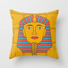 Egyptian Prince Throw Pillow
