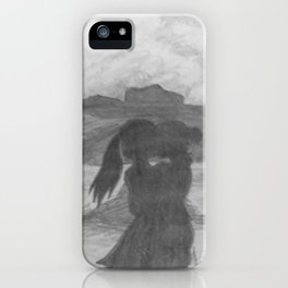 Kiss The Girl iPhone Case