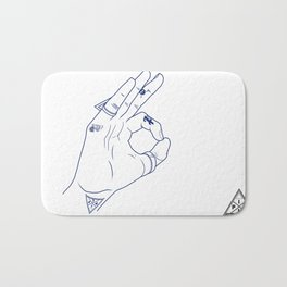 Make My Hands Famous - Part III Bath Mat