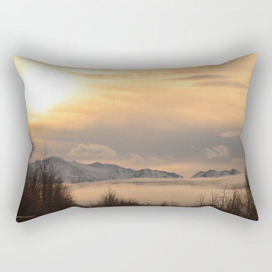 Winter Fog Rectangular Pillow