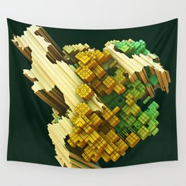 stratocaster dream fractal Wall Tapestry