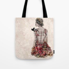 Spring Couture Tote Bag