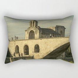 Pont d'Avignon Rectangular Pillow