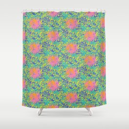 Sol y la Vida Shower Curtain
