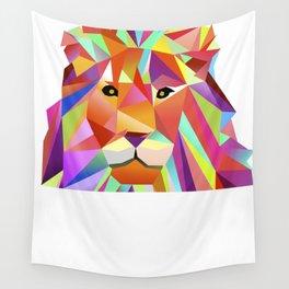 Lovely Lion Leonard Wall Tapestry