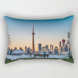 Toronto Island Park Rectangular Pillow