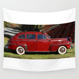 1947 Mercury Eight Sedan Wall Tapestry