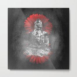 Meditation Time Metal Print