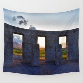Stonehenge Zeotrope Wall Tapestry