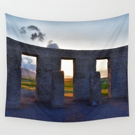 Stonehenge Zeotrope Wall Tapestry
