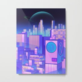 Space Shibuya Metal Print