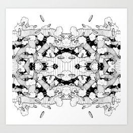 Rings 3 Art Print