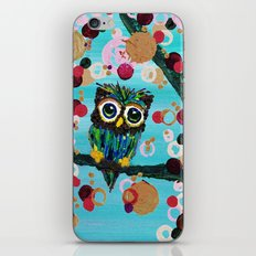 :: Gemmy Owl Loves Jewel Trees :: iPhone & iPod Skin