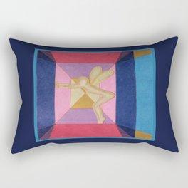 Fairy Under Glass Rectangular Pillow
