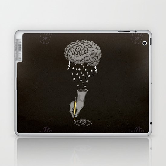 Brain Storm Laptop & iPad Skin