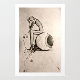 Looking to Something Else Art Print