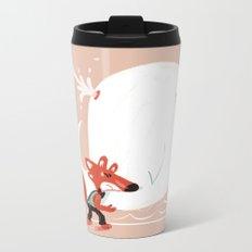 Fox and Whale Metal Travel Mug