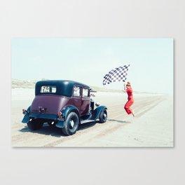 Pendine Sands 2c Canvas Print