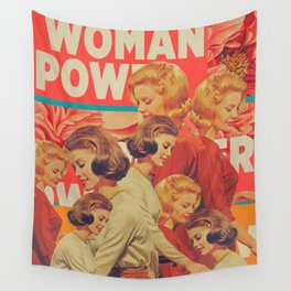 Woman Power Wall Tapestry