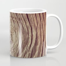 Vintage Weathered Wood Mug