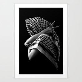 Peace Pose Art Print